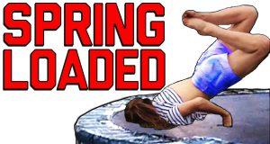 Funny Spring Loaded & Trampoline Fails   FailArmy