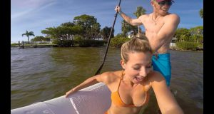 EPIC PADDLEBOARD FAIL: SOMETIMES YOU FALL OFF (VLOG #63)