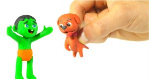 FUNNY KIDS DOG IS LOST AND FOUND ❤ Play Doh Cartoons For Kids