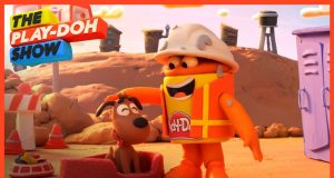 'Cement Truck Fails' Stop Motion Short   The Play-Doh Show