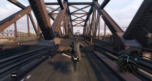 Watch Dogs Bridge Jump Fail
