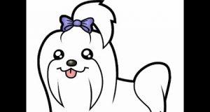 Happy Dog - Cartoon Funny